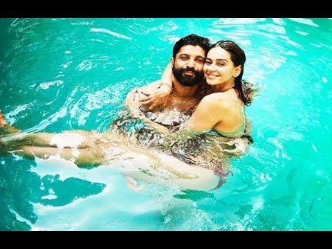 Farhan Akhtar and Shibani Dandekar chill in a pool Mp3