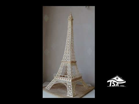 Wonderful How To Make An Eiffel Tower With Sticks