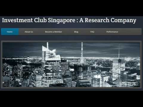 Investment Club Singapore Guide