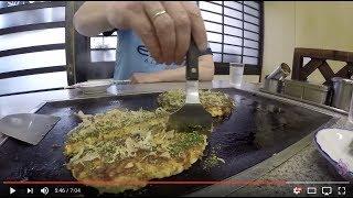 Жарим лепешки в Японии. Веселый фаст-фуд по-японски