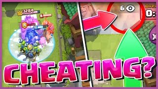 NO WAY!! IS HE CHEATING!? Is This A Clash Royale CHEAT?