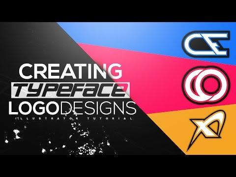 Illustrator Tutorial: Creating Typeface Logo Designs