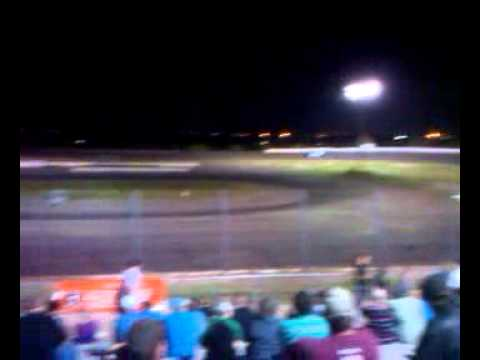 Steve whiteaker Jr. Late Model Hot Laps at South Texas Speedway