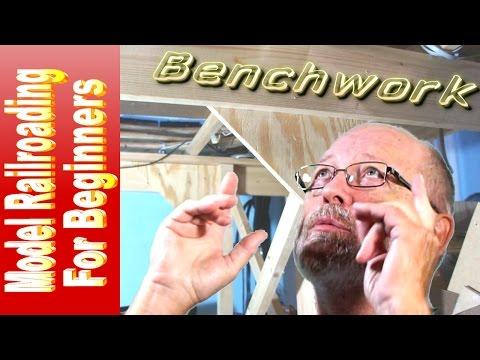 Model Railroading For Beginners - Basic Benchwork - Episode  06