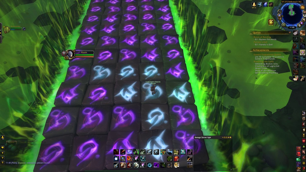 World Of Warcraft Quest Runes Of Rending Youtube