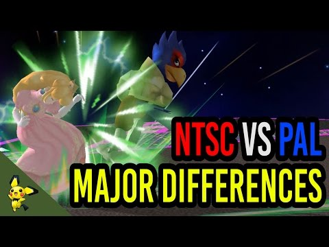 The MAJOR Differences Between NTSC & PAL - Super Smash Bros. Melee