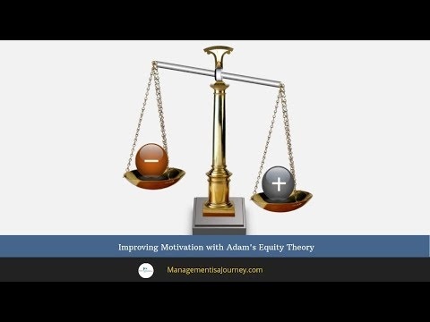 Improving Motivation with Adam's Equity Theory