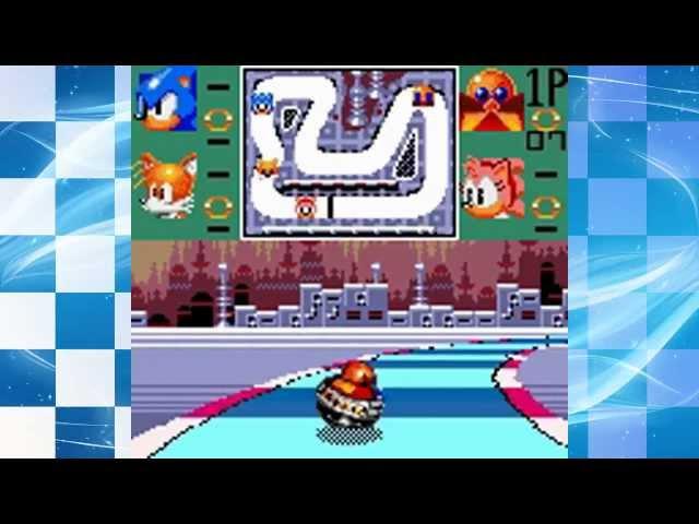 Sonic Drift - Walkthrough