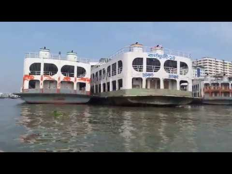 Exclusive Journey By Boat And Ship Launch and Beautiful Seen HD Live খুব সুন্দর