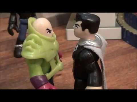 Lex Luthor Superman Gorilla Grodd. Unboxing, fight, adventure!