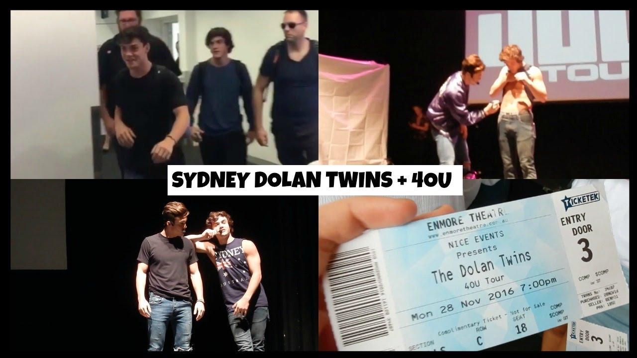 4ou Tour Dates 2020 Winning 4OU tickets! || SYDNEY DOLAN TWINS VLOG   YouTube