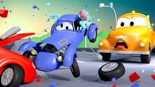 Эвакуатор Том и Кэйти модница в Автомобильный Город | Мультфильм для детей