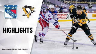 Rangers @ Penguins 3/7/21 | NHL Highlights