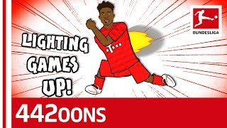 The Alphonso Davies Song - Powered by 442oons