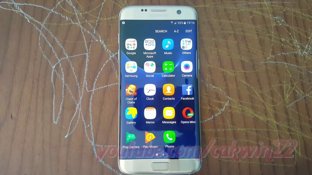 Samsung Galaxy S7 Edge : How to Turn on or Turn off text messages  notification sound