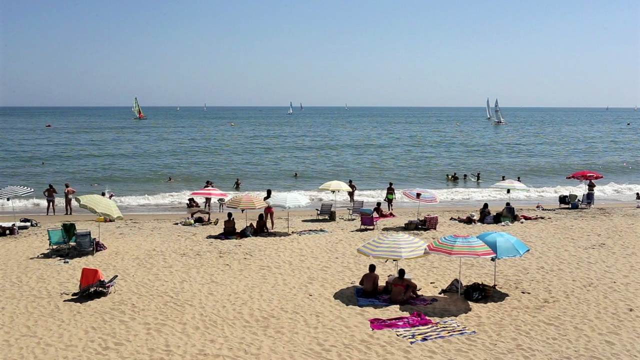playas de huelva espana