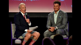 KC Sportsman of the Year Patrick Mahomes encourages kids to work hard and follow their dreams