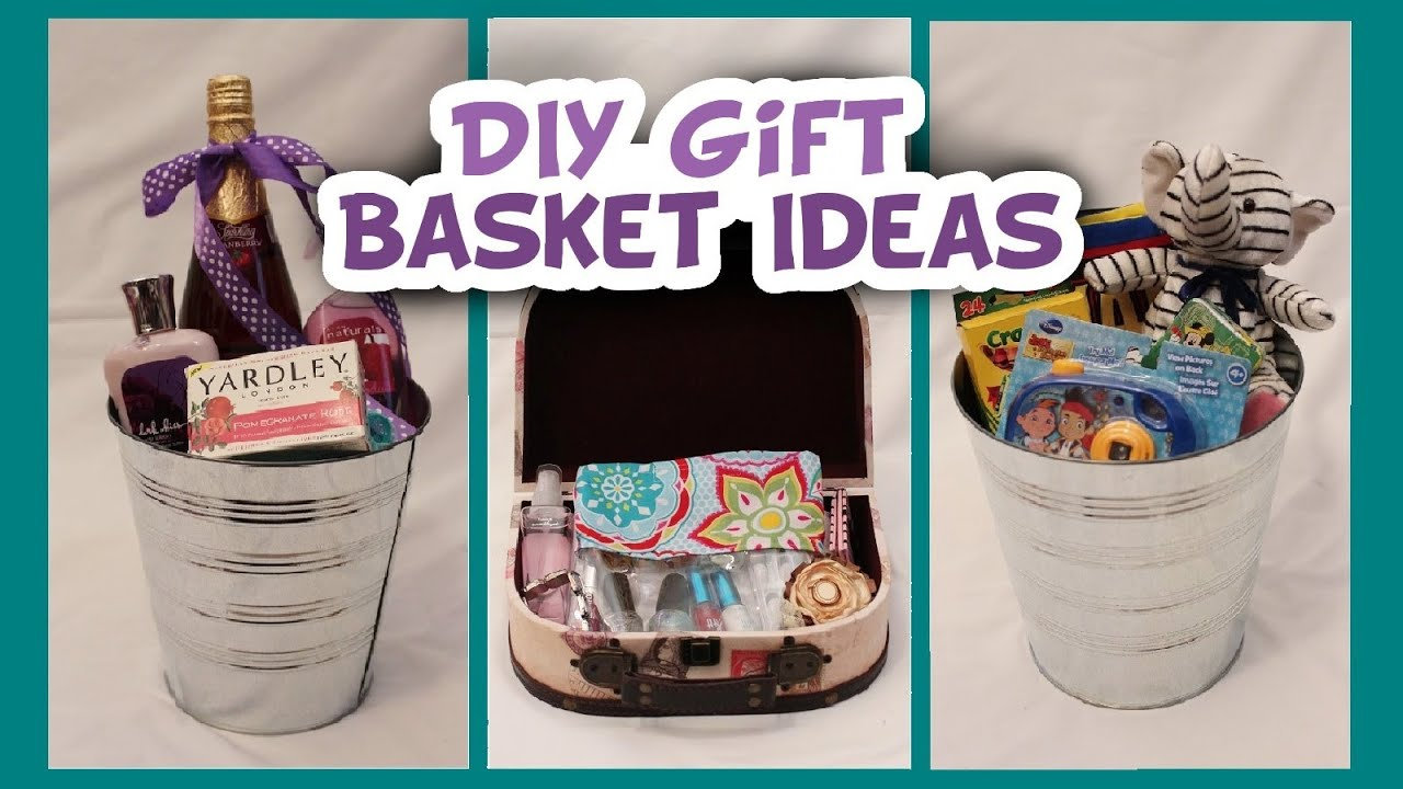Easter basket and gift basket ideas whitney sews youtube easter basket and gift basket ideas whitney sews negle Images