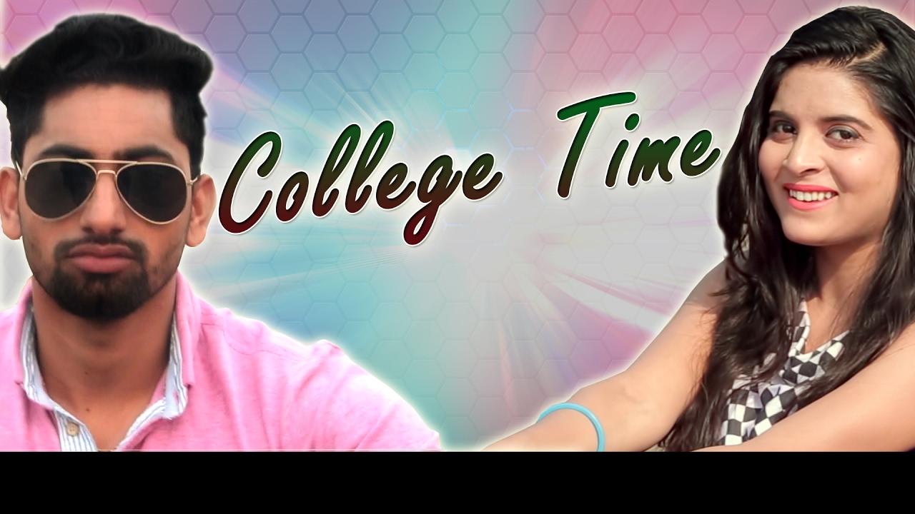 College time || raju punjabi || divya shah & vicky siwani || new.