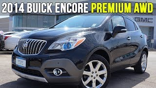 2014 Buick Encore Premium AWD | Heated Steering Wheel (In-Depth Review)
