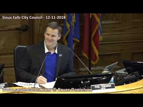 2018-12-11 Sioux Falls City Council
