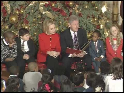 President Clinton at a Children's Christmas Event (1997)