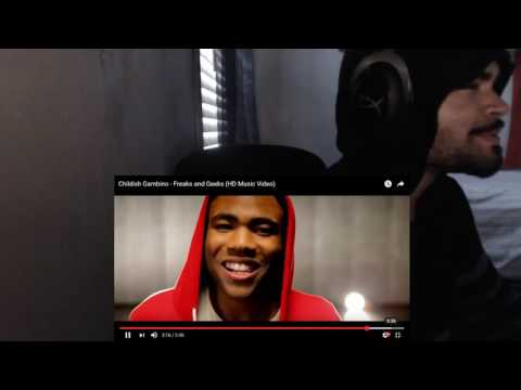 Childish Gambino - Freaks and Geeks (HD Music Video) REACTION!!!