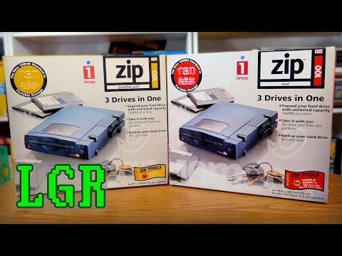 LGR Oddware - The Iomega ZIP Drive Experience