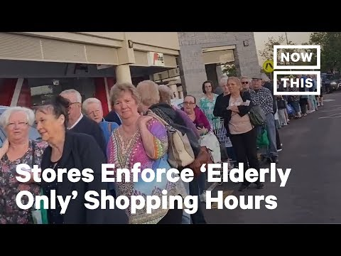'Elderly Only' Shopping Hours Help Seniors Stock Up During COVID-19   NowThis