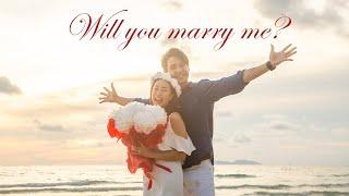 ครั้งแรก!! ที่แรก!! นิว ชัยพลเปิดความรู้สึกหลังขอแต่งงาน 💍🤵🏻👰🏻♀️ #MaysaNewChapter 💚👫🏻