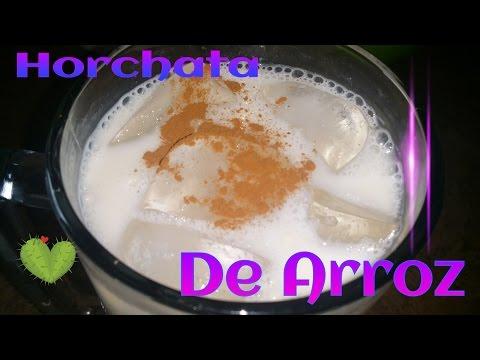 COMO HACER  HORCHATA DE ARROZ