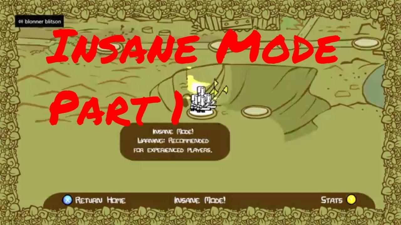 Castle Crashers Remastered Insane Part 1 - YouTube on