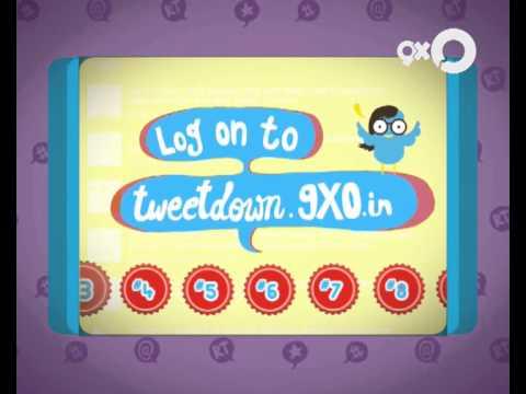 Ebay presents 9XO Tweetdown