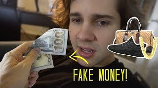 buying stuff with fake money ft david dobrik jason nash bignik