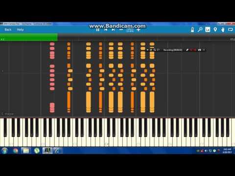20th Century Fox In Chiema  Synthesia Piano