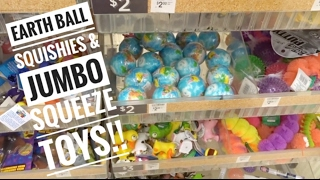 EARTH BALL SQUISHIES AND JUMBO SQUEEZE TOYS AT MICHAELS