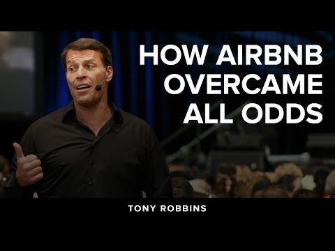 How AirBnB Overcame All Odds | Tony Robbins Podcast