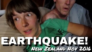 EARTHQUAKE! Live Footage New Zealand Nov. 2016