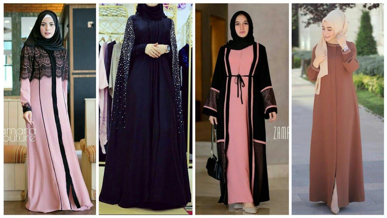20 Model Gamis Abaya Style Terbaru Di Tahun 2019 2020 Youtube