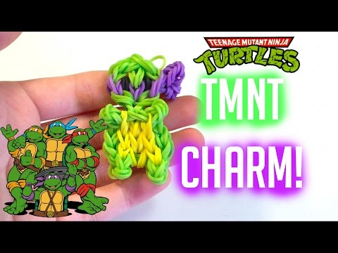 Teenage Mutant Ninja Turtle Charm | Rainbow Loom Tutorial