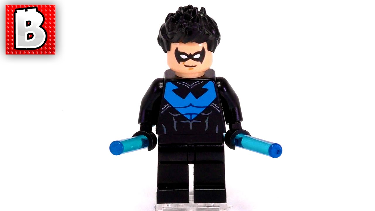 Lego Exclusive Nightwing Minifigure !!! - YouTube