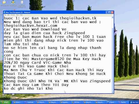 Hack ZingSpeed moi nhat 2012
