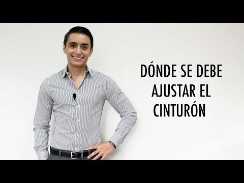 Donde se debe ajustar el cinturon | Humberto Guti�rrez