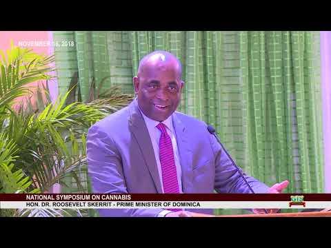 Hon. Prime Minister Dr. Roosevelt Skerrit addresses National Consultation on Cannabis