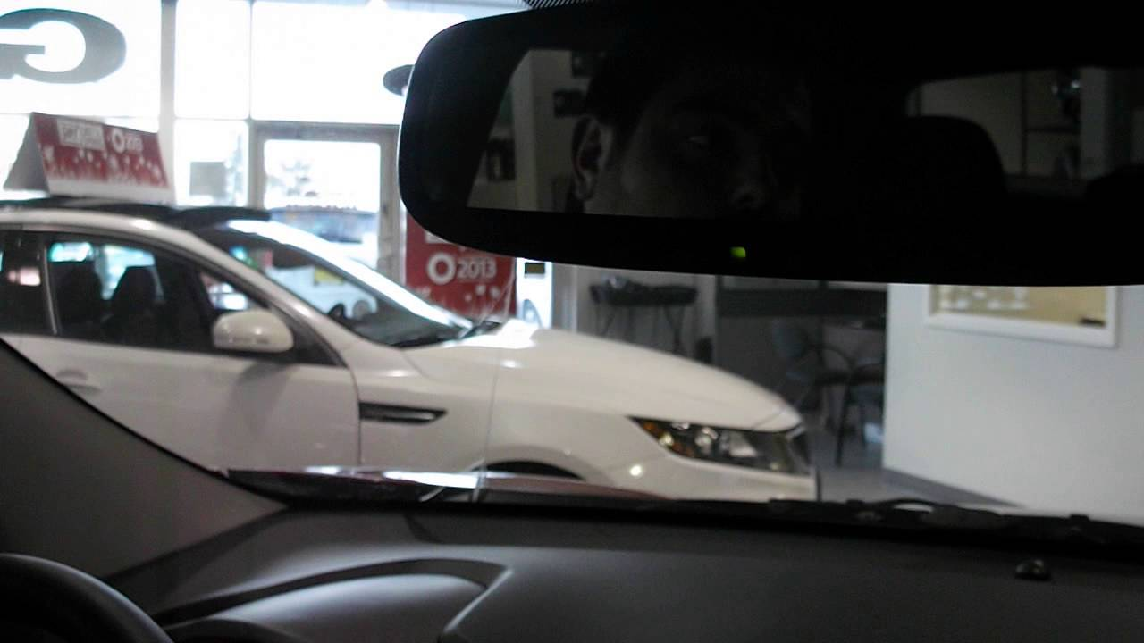 Tech Tip Georgetown Kia 2013 Kia Home Link And Rear View Auto Dimming Mirror Pairing Instuctions Youtube