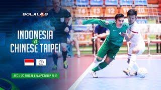 Indonesia (6) - (3) Chinese Taipei - AFC U20 Futsal Championship 2019