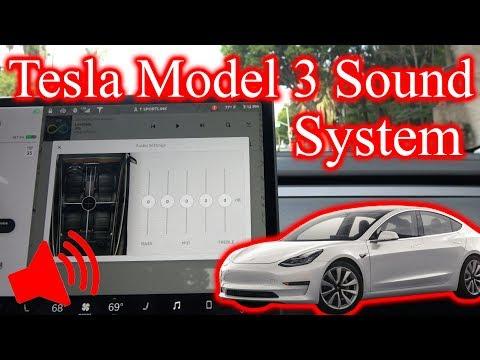 Tesla Model 3 Sound System... Does it Suck?!
