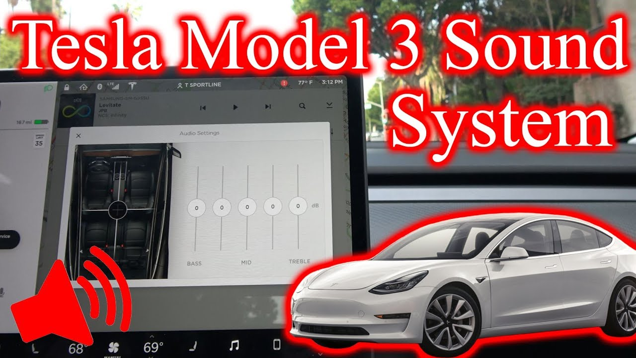 Tesla Model 3 Sound System... Does it Suck?! - YouTube