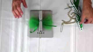Simple DIY St Patrick's Day Pin