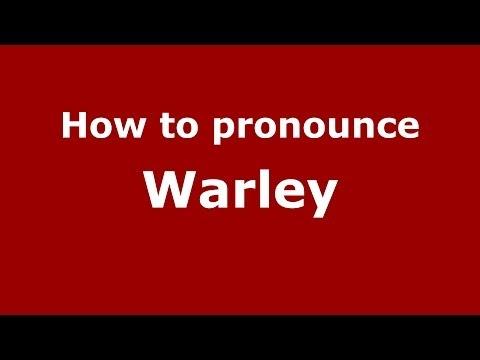 How to pronounce Warley (Brazilian Portuguese/Brazil)  - PronounceNames.com